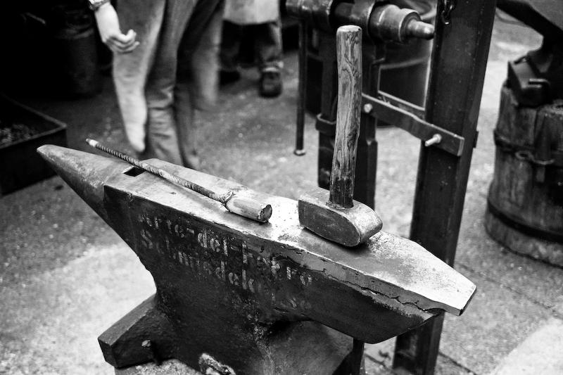 arte del ferro – Messerschmiedekurs bei Hans Utzmann