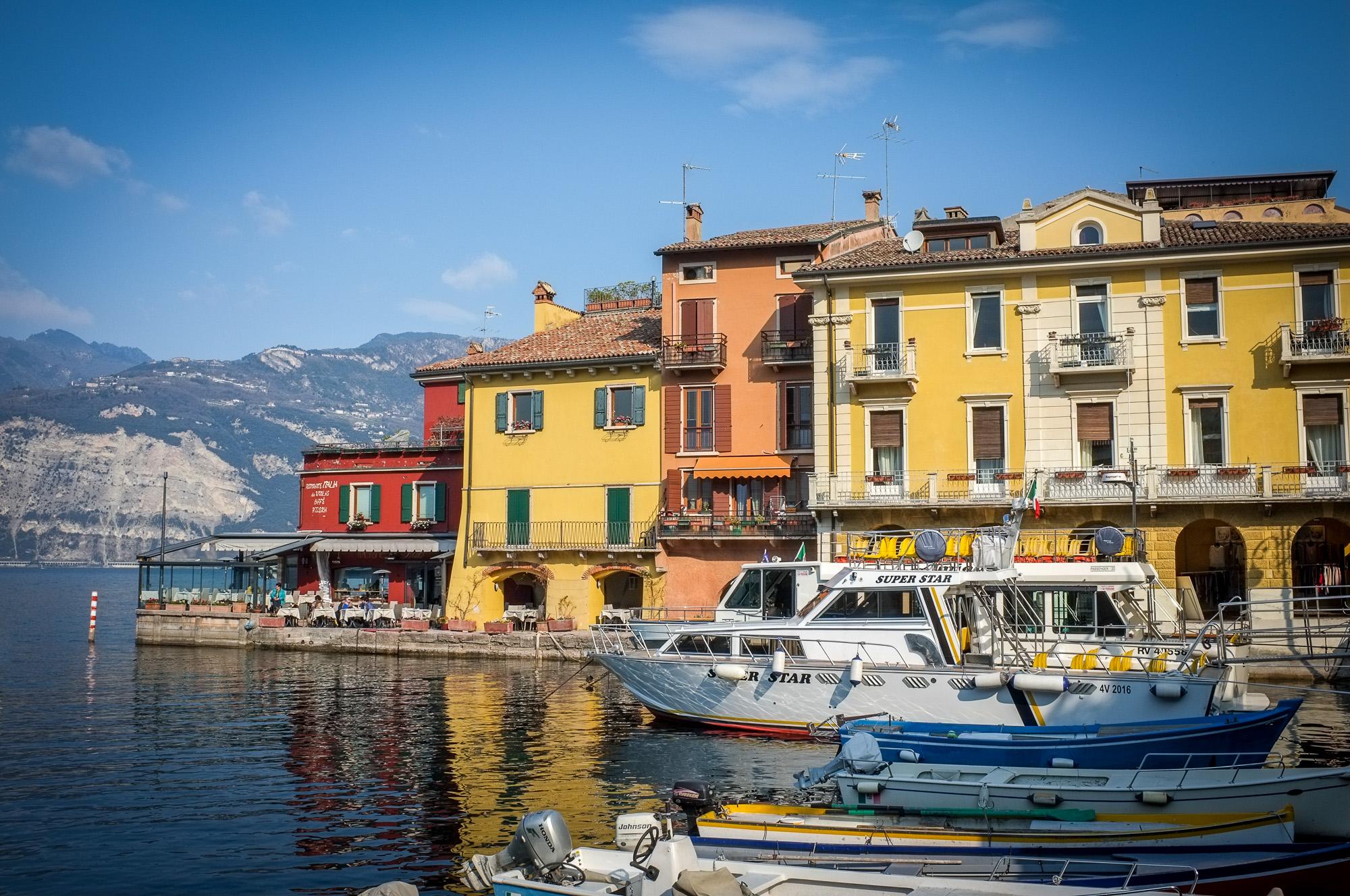 Lago die Garda – Drei Tage Sonne und Licht